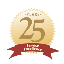 30 years of Service Excellence
