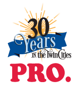 Pro Carpet Cleaners 30 Years in the Twin Cities logo